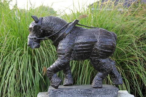 Trekpaard - Gemaakt in ijzer