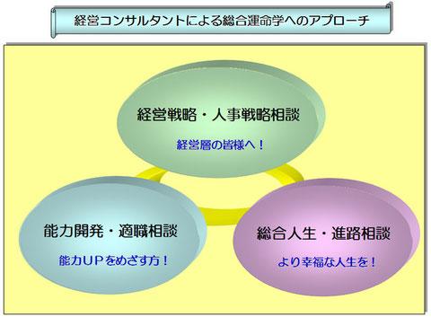 経営コンサルタントによる「総合運命学」へのアプローチ