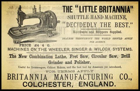 "1878 - "" THE LITTLE BRITANNIA """