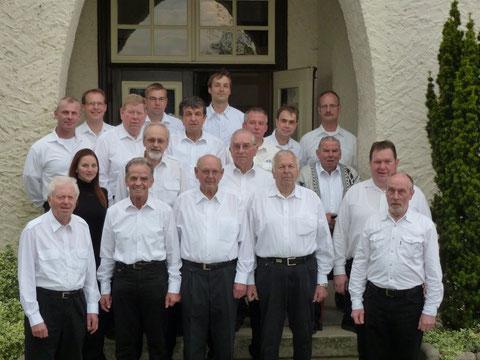 Mai 2012 (es fehlen: Reinhard Nagel, Wolfgang Müller, Peter Radig)
