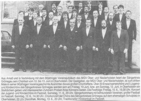 1983 - 90-jähriges Vereinsjubiläum