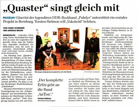 Mitteldeutsche Zeitung vom 14.11.2017