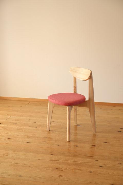 ヒノキ椅子