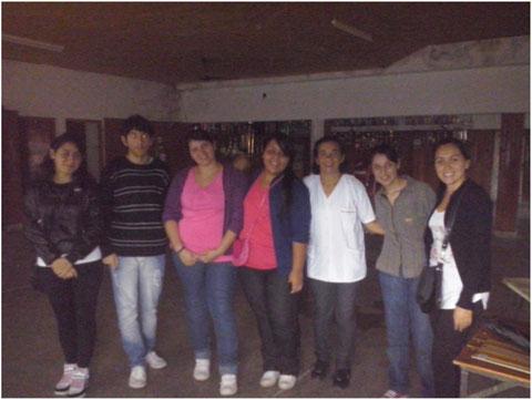 Treffen einiger Irope-StudentInnen in Diamante