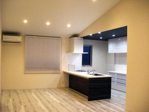 建築 施工例 岡山市の戸建て注文住宅の設計、施工