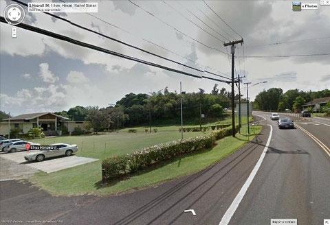 Lihue Hongwanji by Google Street View