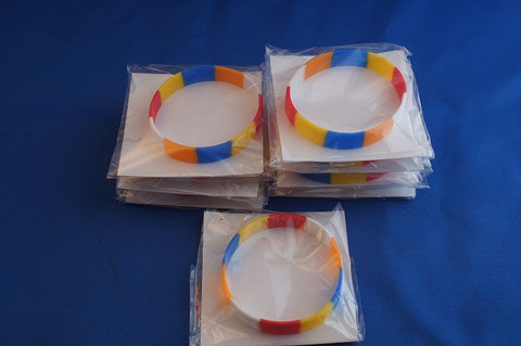 #23 Buddhist Color Bracelets donated by Rev. Masatoki Hamada