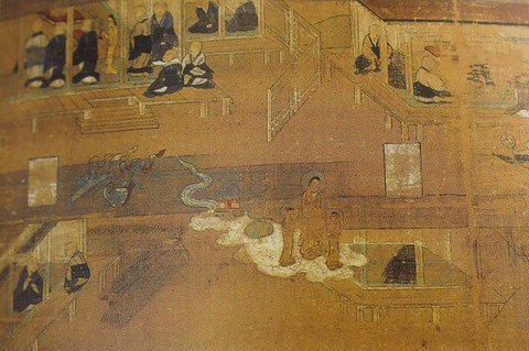 from Honen Shonin Eden (14th century), Myogenji Temple/