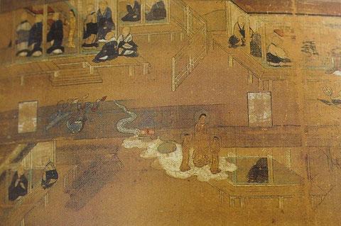 from Honen Shonin Eden (14th century), Myogenji Temple/