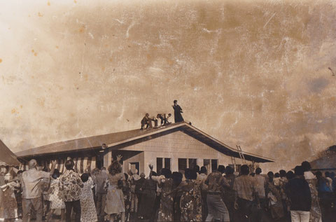 Dedication Ceremony of Social Hall on April 29, 1978