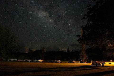 Milky Way was so beautiful.