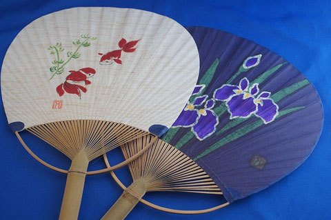 #19 Japanese Bamboo Fan donated by Rev. Kodo Tanaka