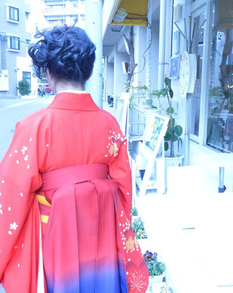 福岡市 入学式 卒業式 着付けセット