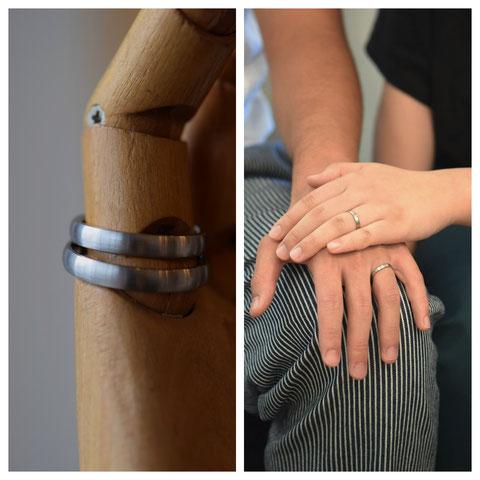 富良野市 M様の結婚指輪