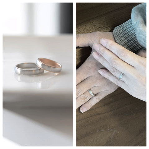 千葉県 T様ご夫妻の結婚指輪