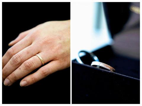 旭川市 O様の結婚指輪