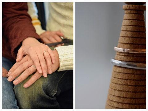 上富良野町 E様の結婚指輪