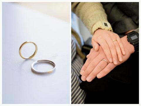 中富良野町 I様の結婚指輪