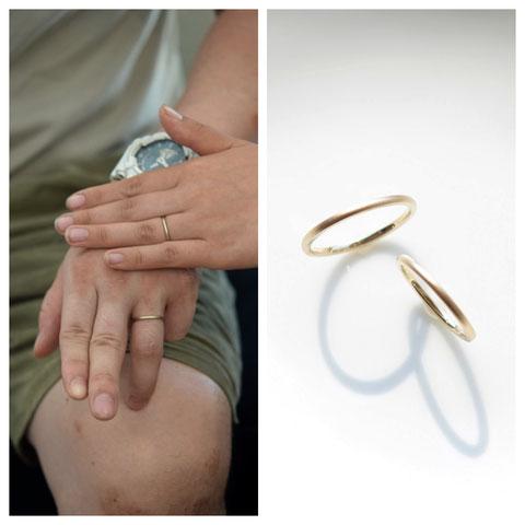 旭川市 K様の結婚指輪