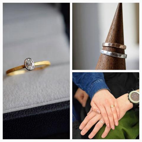 旭川市 N様の結婚指輪