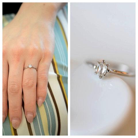 旭川市 I様ご夫妻の婚約指輪