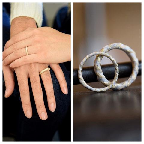 滝川市 T様ご夫妻の結婚指輪