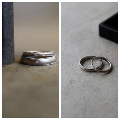 旭川市 G様の結婚指輪