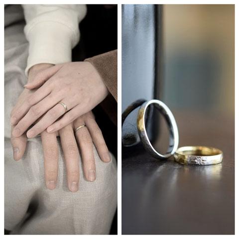 砂川市 A様ご夫妻の結婚指輪
