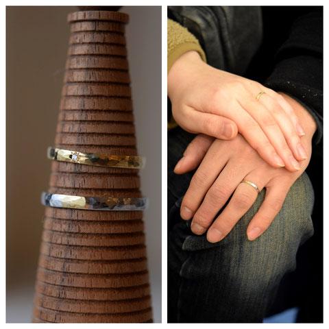 旭川市 T様ご夫妻の結婚指輪