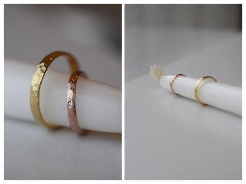 旭川市 Y様の結婚指輪