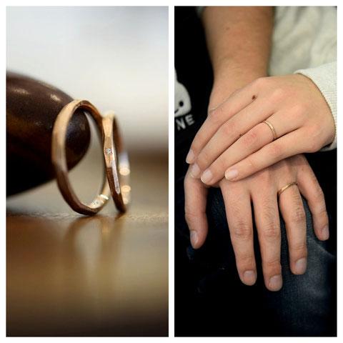 士別市 N様ご夫妻の結婚指輪
