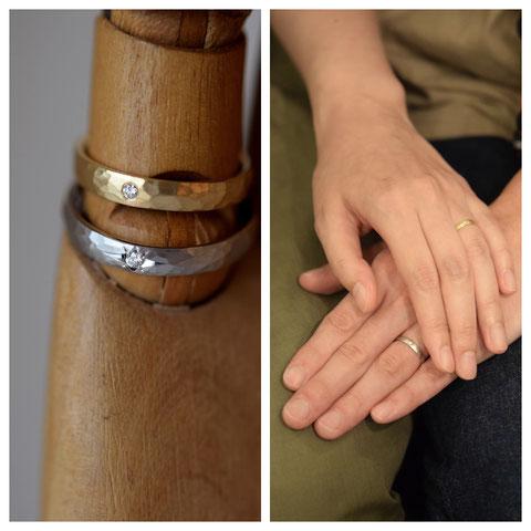 富良野市 O様の結婚指輪