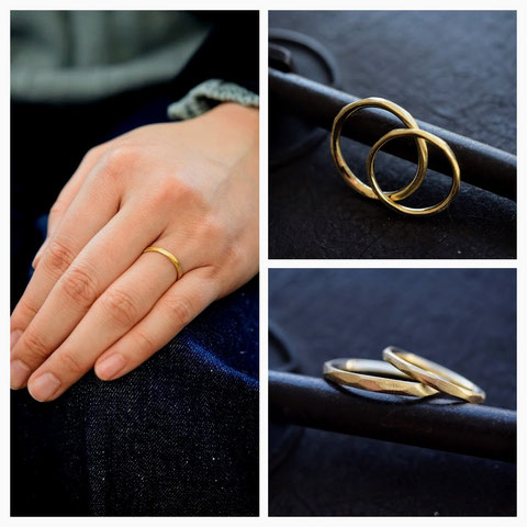 釧路市 M様の結婚指輪