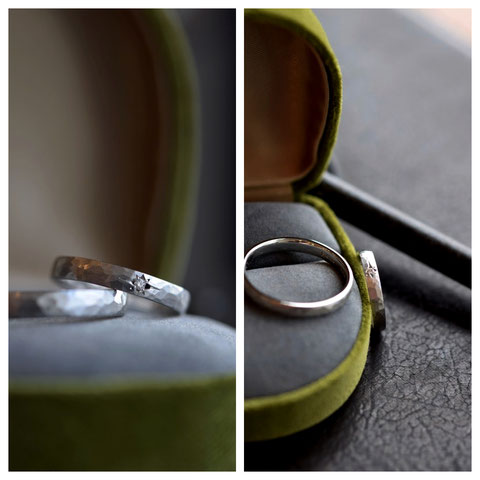 美瑛町U様ご夫妻の結婚指輪