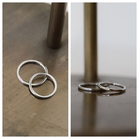 札幌市 M様ご夫妻の結婚指輪