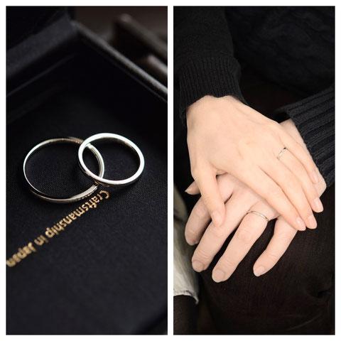 札幌市 K様ご夫妻の結婚指輪