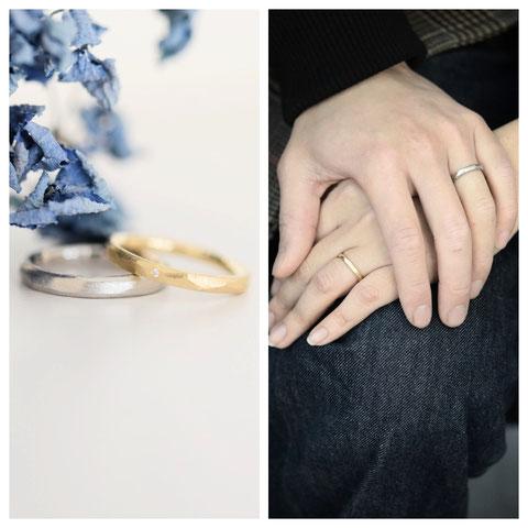 旭川市 Y様ご夫妻の結婚指輪
