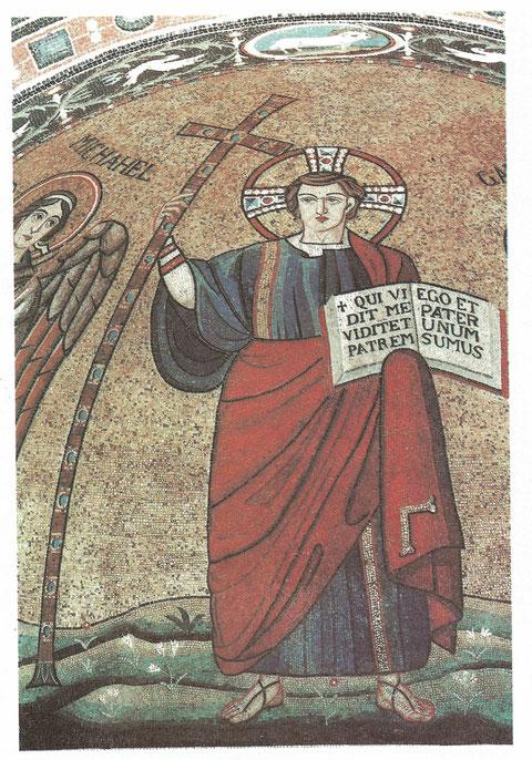 Christus-Mosaik aus San Michele in Africisco