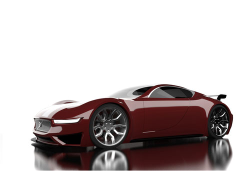 Design of a Volvo GT in Solidworks and visualisation in Visualize andPhotoshop