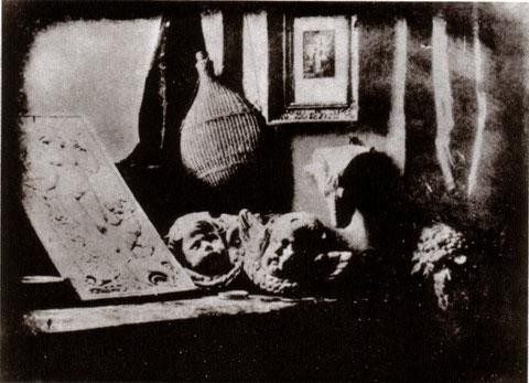 Daguerreotypo Daguerre Atelier 1837