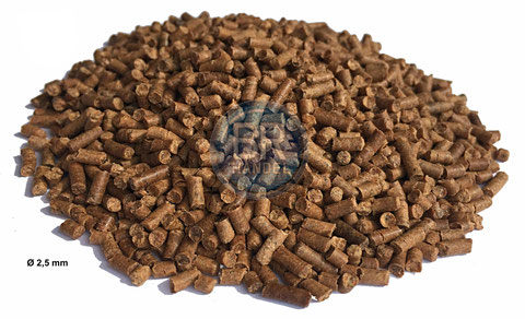 gammarus pellets 2,5mm