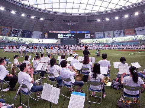 第35回くりくり少年野球大会開会式@西武プリンスドーム