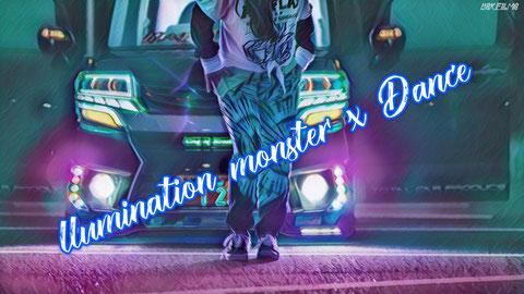 N-BOX illumination monster x Dance 4K cinematic PV