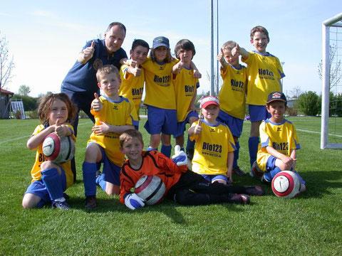 Team TSV Poing F3 - 27.04.2012 gegen FC Aschhheim