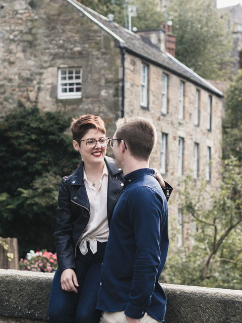 edinburgh prewedding couple photography shoot