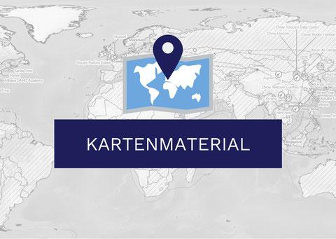 Kartenmaterial Geopolitik