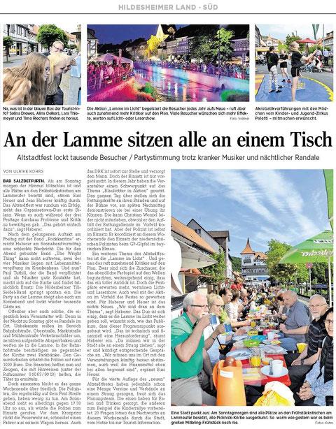 Quelle: Hildesheimer Allgemeine Zeitung vom 08.06.2015