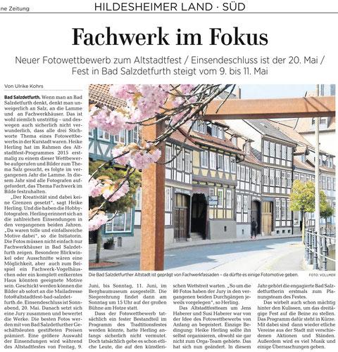 Quelle: Hildesheimer Allgemeine Zeitung vom 28.04.2017