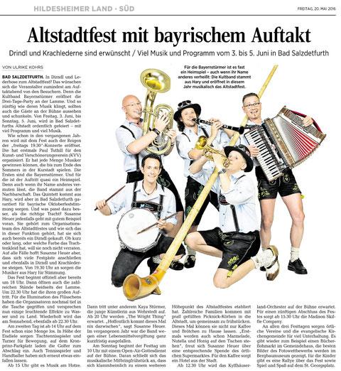 Quelle: Hildesheimer Allgemeine Zeitung vom 20.05.2016