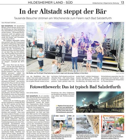 Quelle: Hildesheimer Allgemeine Zeitung vom 04.06.2018